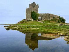 Ruins of Hassett's Fort/Castle Caldwell in Belleek, Ireland