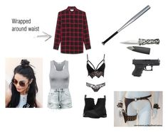 """""""Untitled #696"""" by milala-1 on Polyvore featuring Club L, Charlotte Russe, Ksubi, Yves Saint Laurent and Dr. Martens"""