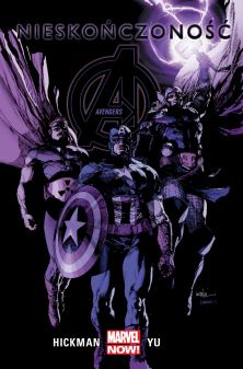 "Jonathan Hickman (sc.), Leinil Francis Yu (rys.), ""Avengers #4: Nieskończoność"", Egmont Polska , 2016."
