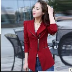 High quality Women Slim Small Leisure Suit Jacket