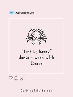 Telling a moody Cancer to be happy is like telling an asthma patient to breathe in the air floating around. - Cancer zodiac sign pet peeves Zodiac Signs Astrology, Zodiac Sign Facts, Petty People, Judgmental People, Breathe In The Air, One Sided Relationship, Taurus Love, Personal Questions