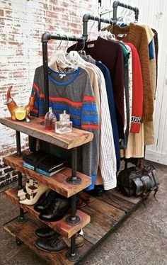 23 Clever DIY industrial furniture projects that revolutionize sophisticated design lines ., 23 Clever DIY industrial furniture projects revolutionizing sophisticated design lines Plumbing Pipe Furniture, Industrial Furniture, Diy Furniture, Furniture Design, Industrial Style, Industrial Pipe, Industrial Design, Vintage Industrial, Furniture Plans
