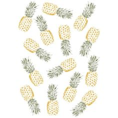 Rui Faria Pineapple ($15) ❤ liked on Polyvore featuring fillers and pineapple