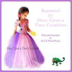 Rapunzel Inspired Princess Tutu Dress - Birthday, Halloween Costume - Girls Size 12M 18M 2T 3T 4T 5T - Disney Tangled Inspired on Etsy, $59.99