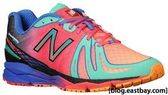 New Balance 890 Femme Rainbow Multi Couleur Rose