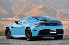 2014 Aston Martin V12 Vantage S - left rear qtr