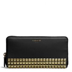 OMGEEE Perfect for my new purse! LOVE!!!  The Legacy Accordion Zip Wallet In Studded Leather from Coach