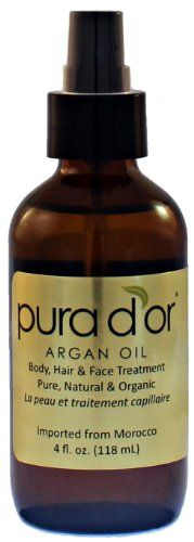 PLEASE SHARE- Pura d'or 100% Pure & USDA Organic Argan Oil (4 fl. oz.) For Face, Hair, Skin and Nails #100% #Argan #d'or #Face #Hair #Nails #Organic #Pura #Pure #Skin #USDA