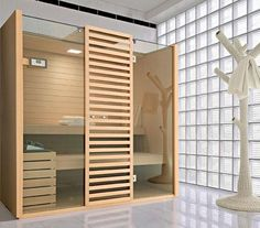 bathroom sauna