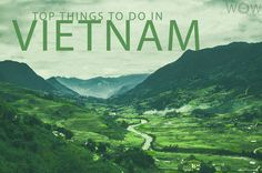 The list below of the Top 10 Things to Do In Vietnam will take you all the way from the buzz of Ho Chi Minh City to the relaxed charm of Hanoi, the eye-popping scenery of Halong Bay to the bustle of the Mekong Delta and the ethnic diversity of Sa Pa.
