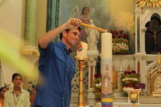 Yo quiero que nuestra Venezuela sea como la casa de Dios, donde entra todo el mundo. Henrique Capriles