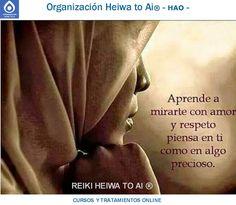 Aprende a mirarte con amor y respeto. Piensa en ti como algo precioso!! Cursos de Reiki Heiwa to Ai (3 niveles): INFO:http://cursoshao.blogspot.com.es/ Organización Heiwa to Ai (HAO) Por un mundo pacífico y feliz!! Luis Parker - terapeuta de HAR -