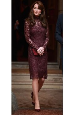 The Duchess of Cambridge& Lace Dress Is Just as Dreamy as Her Gowns. The Duchess of Cambridge& Lace Dress Is Just as Dreamy as Her Gowns. This is probably my second favourite dress that she has worn! Style Kate Middleton, Kate Middleton Photos, Kate Middleton Dress, The Duchess, Duchess Of Cambridge, Trendy Dresses, Elegant Dresses, Classy Gowns, Classy Dress