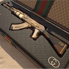 guns for women Ak 47, Ninja Weapons, Weapons Guns, Guns And Ammo, Armas Airsoft, Armas Wallpaper, By Any Means Necessary, Custom Guns, Military Guns