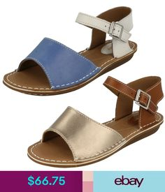 2bc10bd620e Ladies Clarks Leather Sandals UK Sizes E Fitting Tustin Sinitta