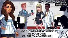 This free mobile game is a great way to reach and keep in touch with fans and admires of Kim Kardashian's life style.
