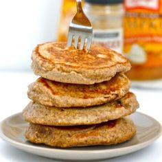 Pumpkin Gingerbread Protein Pancakes | The Big Man's World
