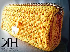 Pochette a punto stella: tutorial passo passo      ♪ ♪ ... #inspiration #crochet  #knit #diy GB  http://www.pinterest.com/gigibrazil/boards/