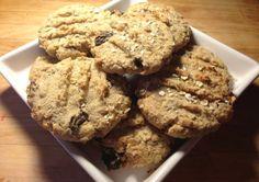 easy midweek oatmeal raisin golden crunchy chewy cookies egg yolk recipe
