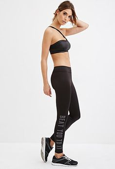 Active Beat You To It Leggings | Forever 21 - 2000147099