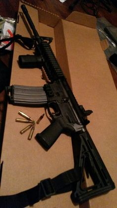 with #colt having $ issues, added another #ar-15 #rifle to #gun collection #firearm #gunsense #2a