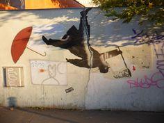 ... Nemo on a wall near Télégraphe