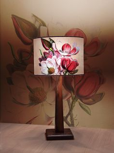 Items similar to Lamp shade Magnolia on Etsy Colours, Lamp, Table Lamp Base, Lamp Bases, Novelty Lamp, Shades, Etsy, Lamp Shade, Magnolia