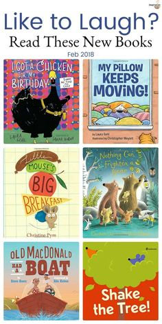Hilarious new picture books 2018