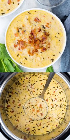 Recipes Snacks Videos This Healthy Cauliflower Soup is creamy, delicious and incredibly easy to make. This Cauliflower recipe is keto friendly and can easily be customized. This recipe has instructions for Instant Pot and Stovetop. Healthy Recipe Videos, Healthy Recipes, Keto Recipes, Crockpot Recipes, Cauliflower Soup Recipes, Creamy Cauliflower Soup, Stove Top Recipes, Kitchen Recipes, Snacks Sains