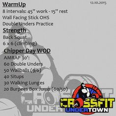 #wod #cftundertown #crossfit #workout #chipper #day #madness #conditioning #strength #barbells #squat #xenios #roguefitness #netintegratori #progenex #supportyourlocalbox