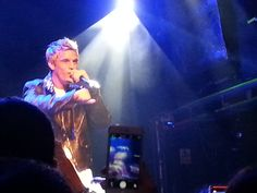 Aaron Carter O2 Academy Islington 17 January 2015