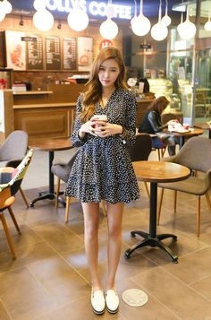 #dress #one-piece #cute #photo #pretty #k-pop #korean fashion #fashion #style #judbibian #주드비비안 #여성의류