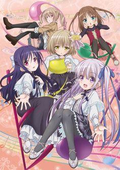 Visual mới nhất của Anime Tenshi no 3P!