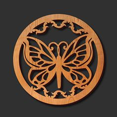 Trivet - Decorative Laser Cut Wood Trivet