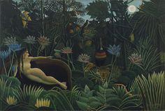 Henri Rousseau. The Dream (1910)