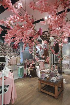 Topshop Emma Cook Christmas installation by StudioXAG, London visual merchandising