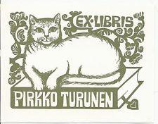 Bookplate Pirkko Turunen