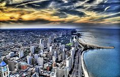 The Great Lake of Chicago, via Flickr.