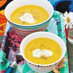 Recept - Gele paprikasoep - Allerhande