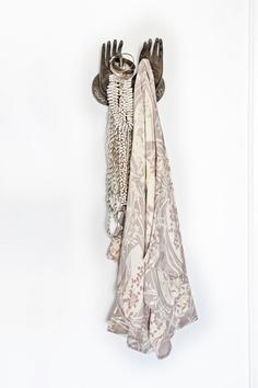 mudra hands : LW   'tahitian moon kimono' : spell   shell accesories / home / styling : sara n bergman