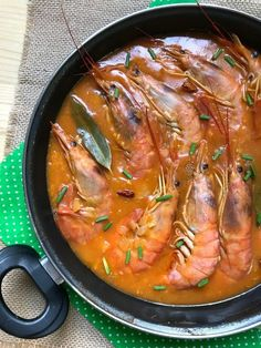Gambones en salsa marinera - Atıştırmalıklar - Las recetas más prácticas y fáciles Best Seafood Recipes, Fish Recipes, Mexican Food Recipes, Keto Recipes, Cooking Recipes, Healthy Recipes, Ethnic Recipes, My Favorite Food, Favorite Recipes
