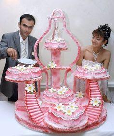 Is it a cake or is it modern art???