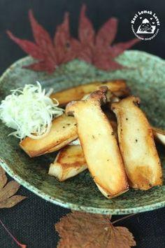 Jap salt grilled eryngii mushroom
