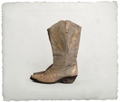 vintage pebbled leather faux reptile boots