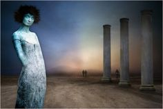 Stone girl by Patrick Desmet on 500px