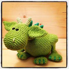 Little dragon #crochet #dragon