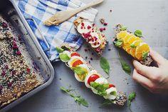 Lingonbröd med zucchini - glutenfritt