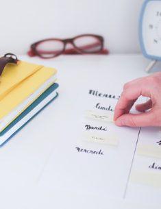 Comment je m'organise au quotidien ⋆ Blog du Dimanche