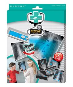 Take a look at this Rescue World X-Ray Set by SES Creative on #zulily today! $10 !!