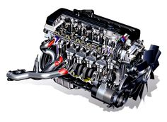 Considered one of the best engines in the world, BMW's 343-bhp S54B32 helped establish the E46 M3 as the model for which all other sporting coupes would be judged. It won Ward's Engine of the Year- Straight Six class for 3 years running in 2002, 2003, & 2004. The S54B32 was derived from the E36 M3's S52B32 engine. Along with the 343 hp it made 269 lb-ft of effortless torque, and found its way under the hoods of not just the E46 M3, but the '01-'02 Z3 M Roadster, and the Z4 M Roadster…